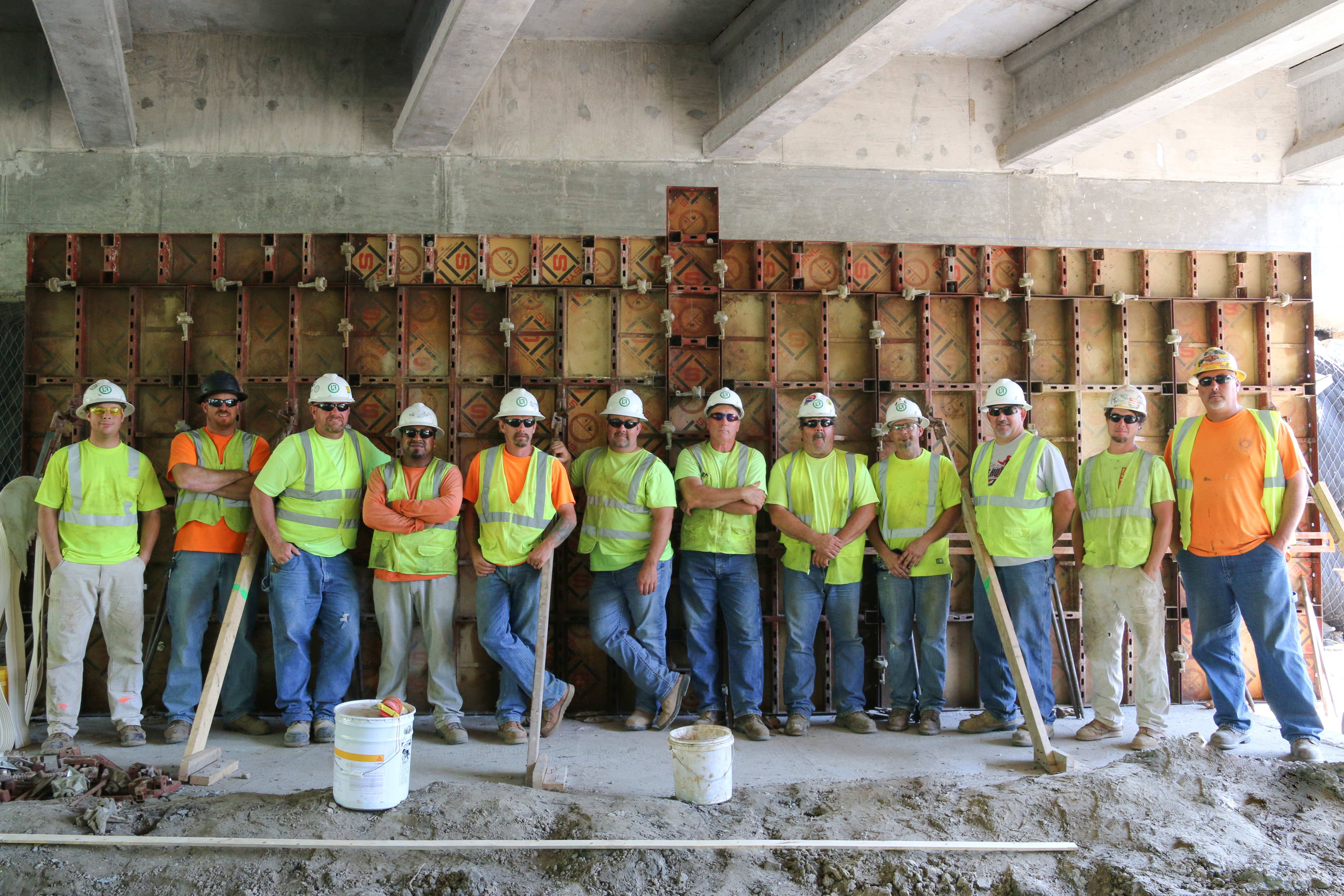 L Keeley Heavy Civil Team on Great Rivers Greenway Project