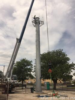 Mercury Communications Tower Stack