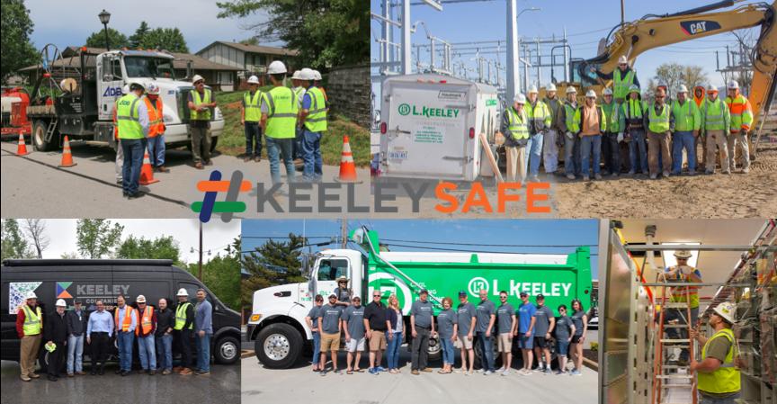 #KeeleySafe collage