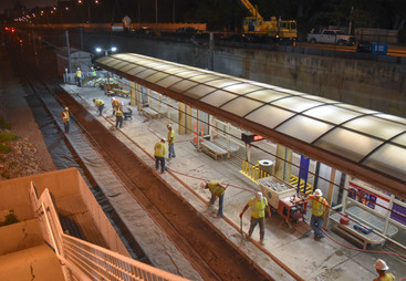 L Keeley Construction Civil Metro Link