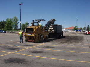 Paving + Milling Services