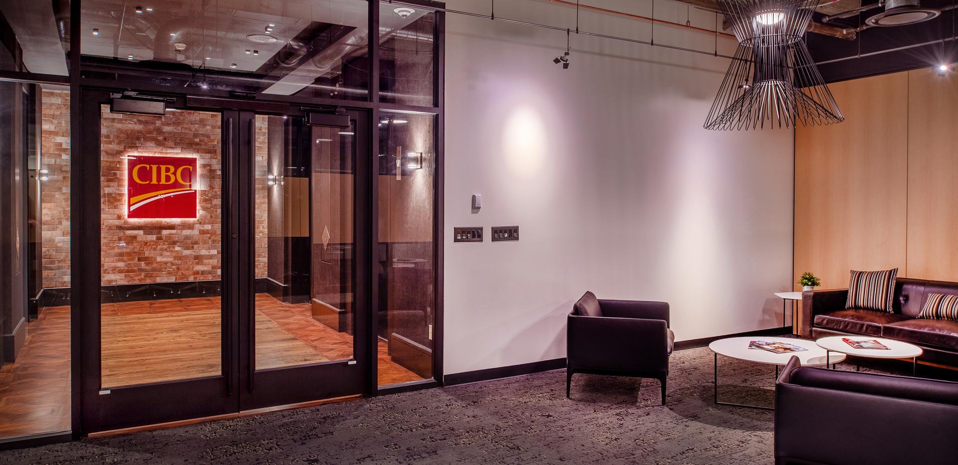 CIBC Bank Office Renovation