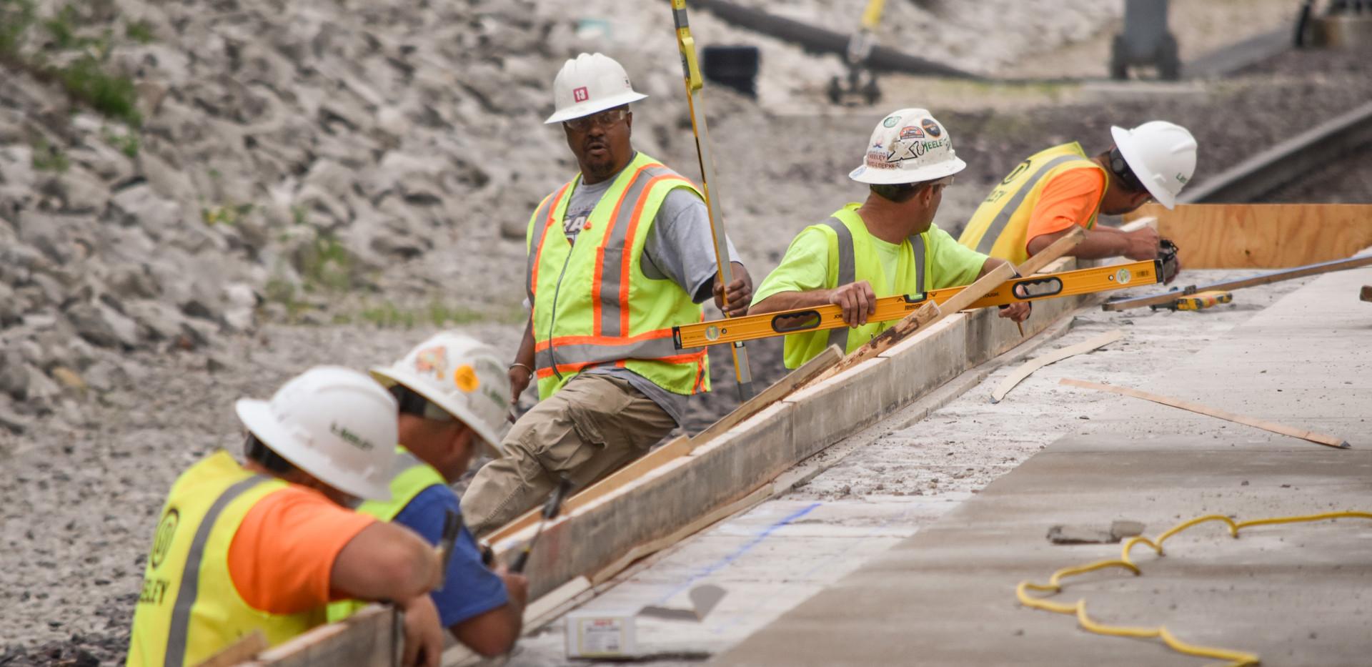 L Keeley Construction Concrete Civil