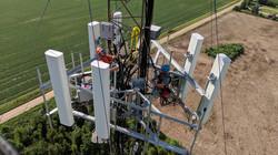 Mercury Communications Guyed Tower
