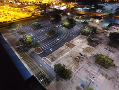 L Keeley Construction Paving Aerial