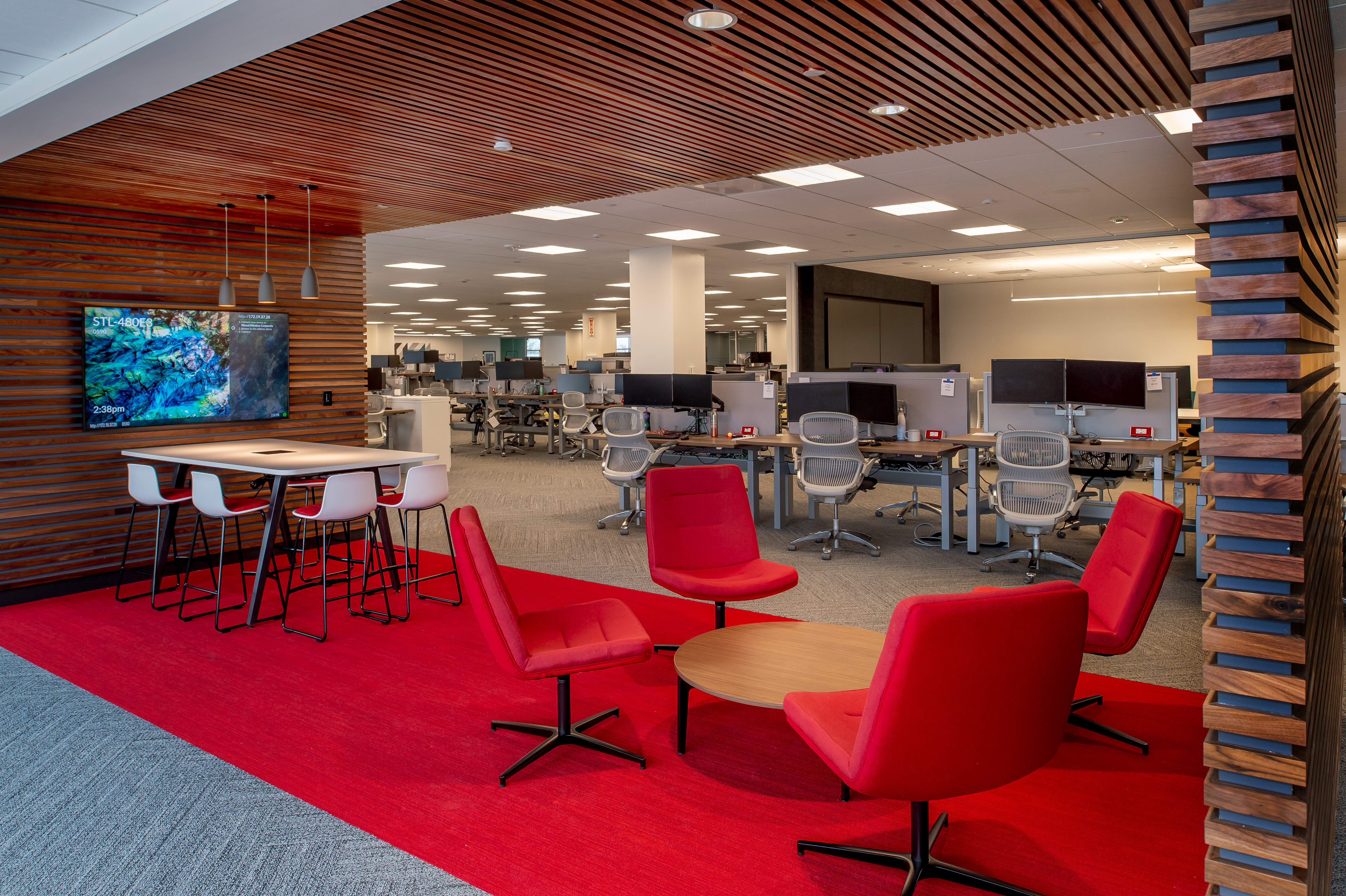 L Keeley Building Group Final MasterCard Interior Office Renovation