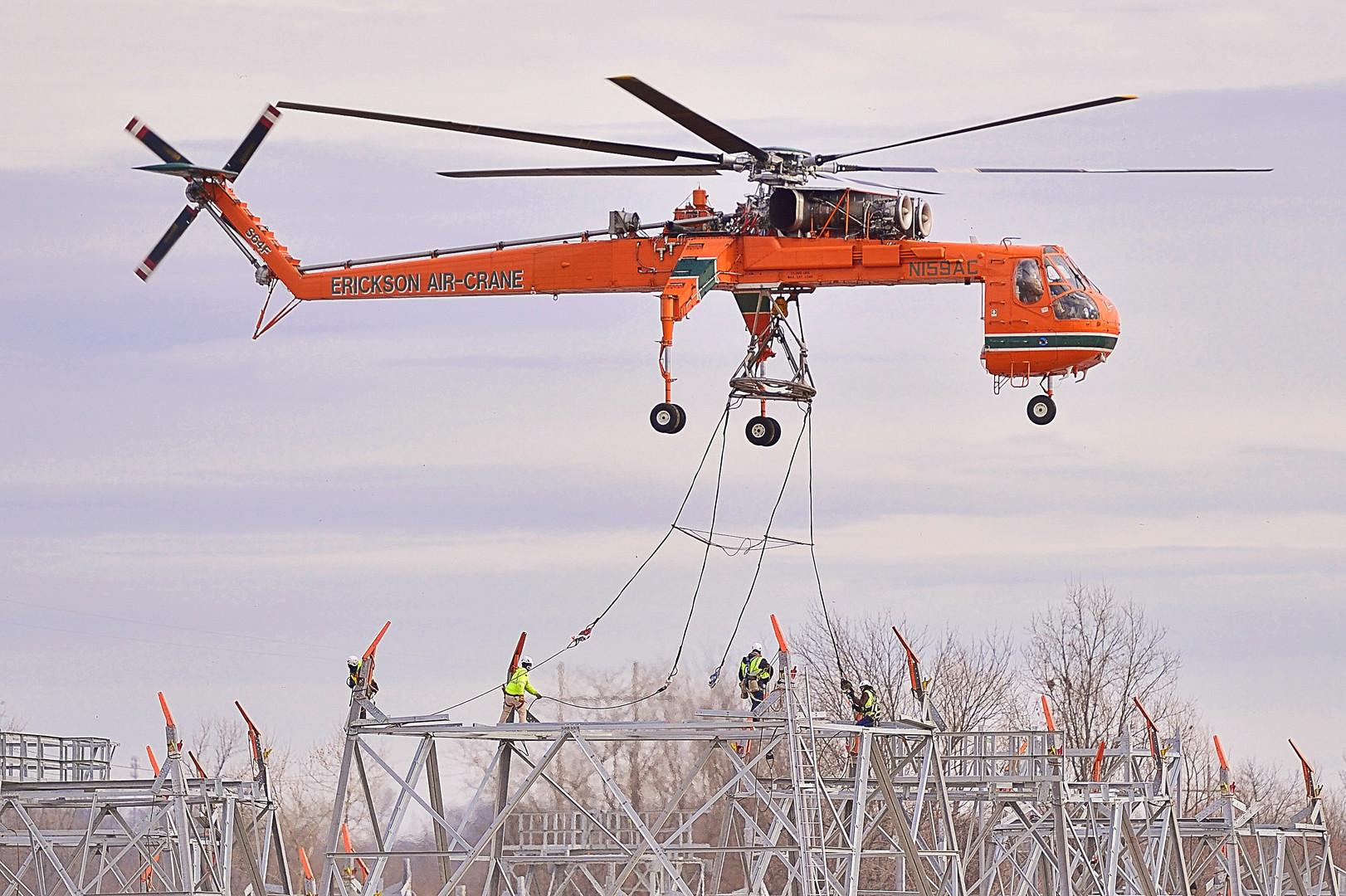 L Keeley Construction Civil Airlift
