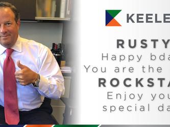 Happy Birthday, Rusty!