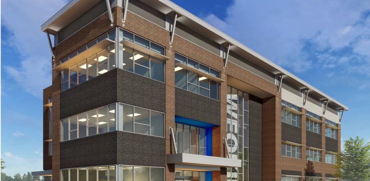 Weokie Credit Union Admin Building Rende