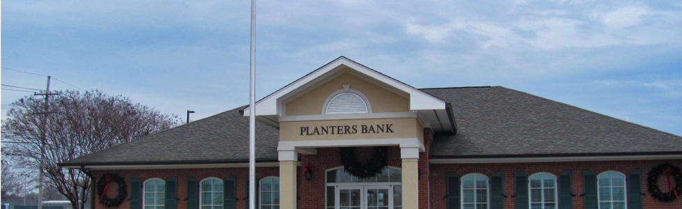 Planters Bank Completed Exterior