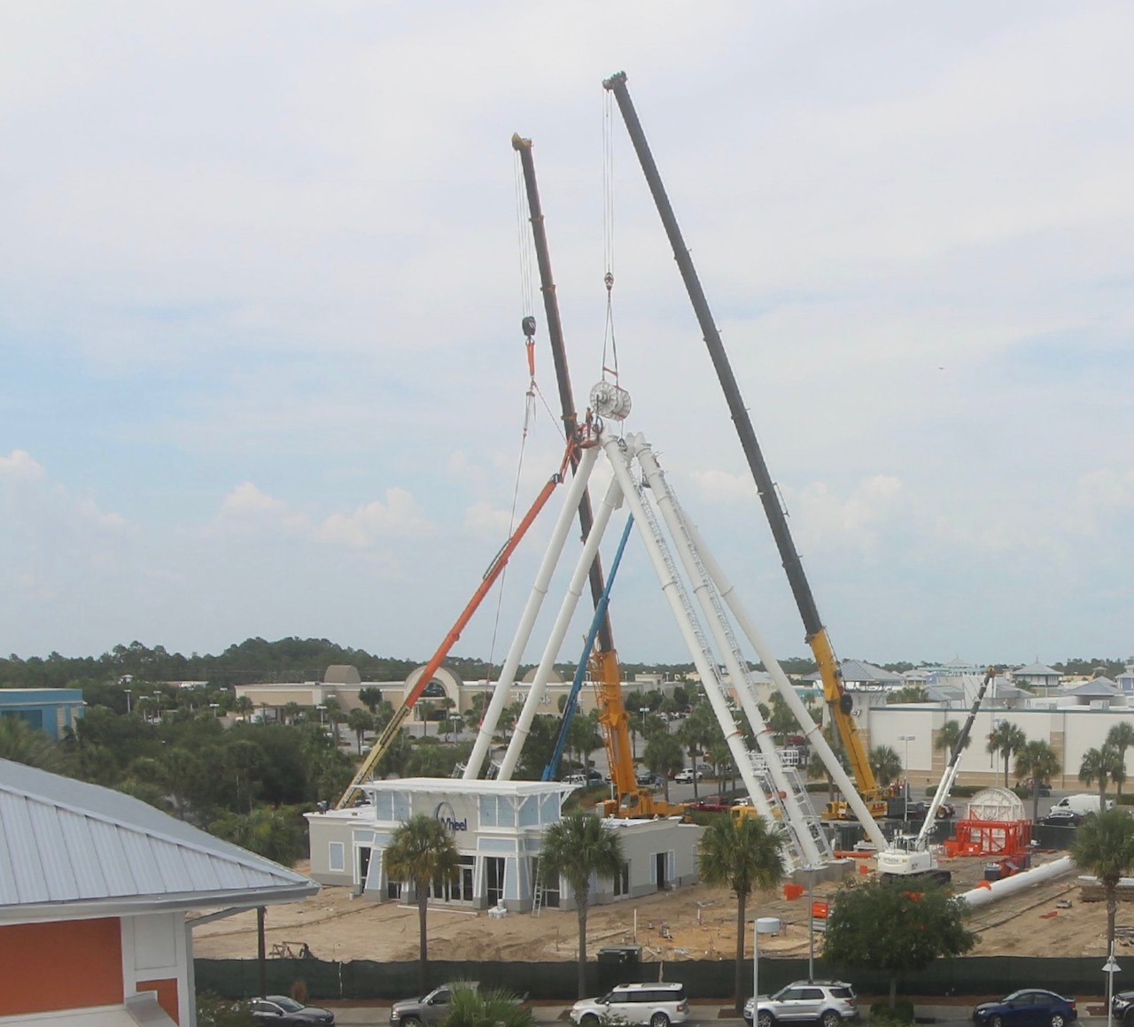 L Keeley Heavy Civil Construction of Skywheel in Florida