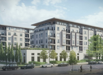 New KDG Multifamily Development in Central West End
