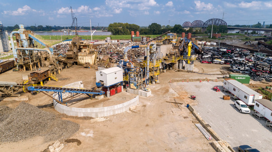 L Keeley Industrial Completed Shredder R