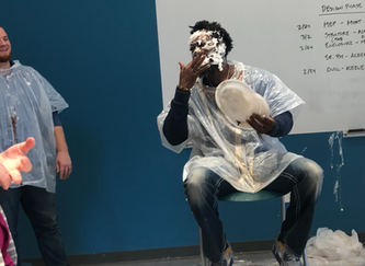 #KeeleyCares: Pie in the Face for Good Shepherd