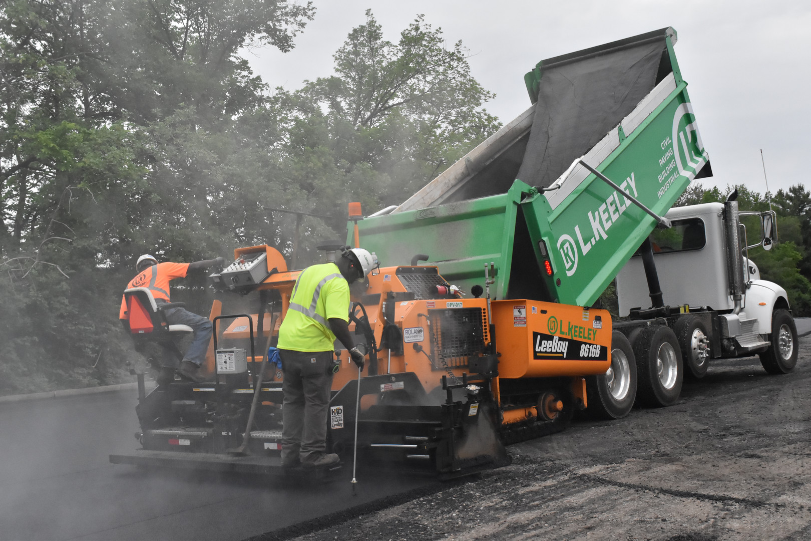 L Keeley Construction Paving Kohls
