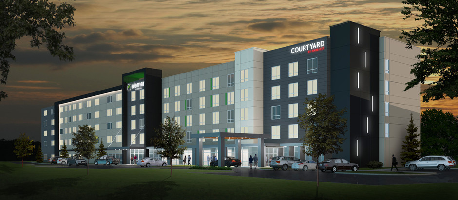 First Olive Crossing Tenant: Marriott Hotel