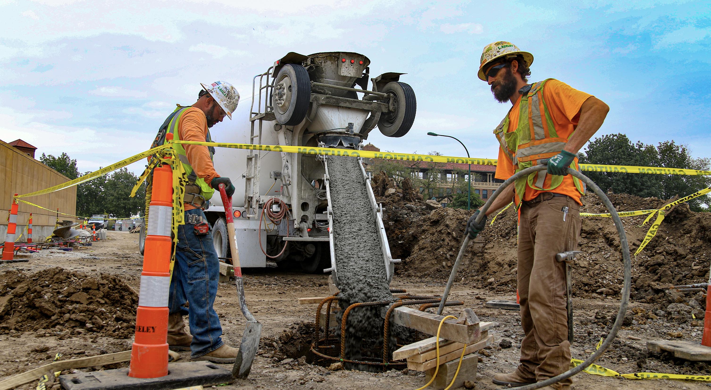 LKC Heavy Civil Concrete Pour