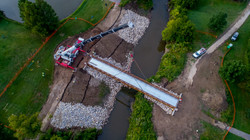 064 G Rivers Greenway Bridge Install_Aug