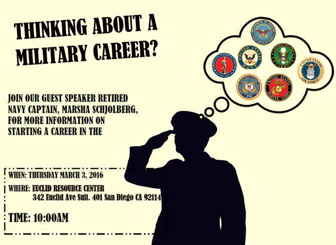 Military Career Guest Speaker