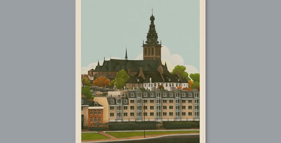 Nijmegen Koelkastmagneet