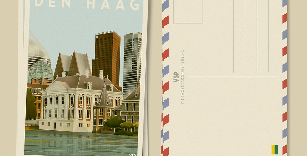 Den Haag Ansichtkaarten 6 stuks