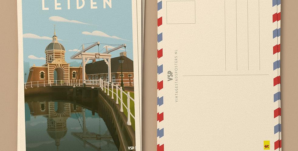 Leiden Ansichtkaarten 6 stuks