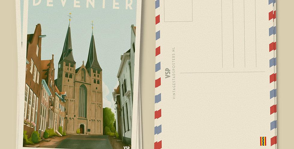 Deventer - De Bergkerk Ansichtkaarten 6 stuks