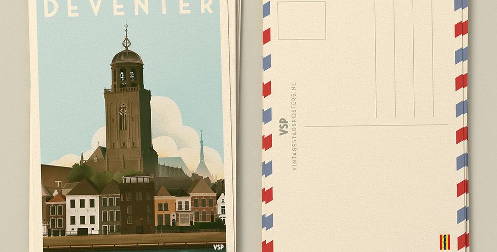 Deventer Ansichtkaarten 6 stuks