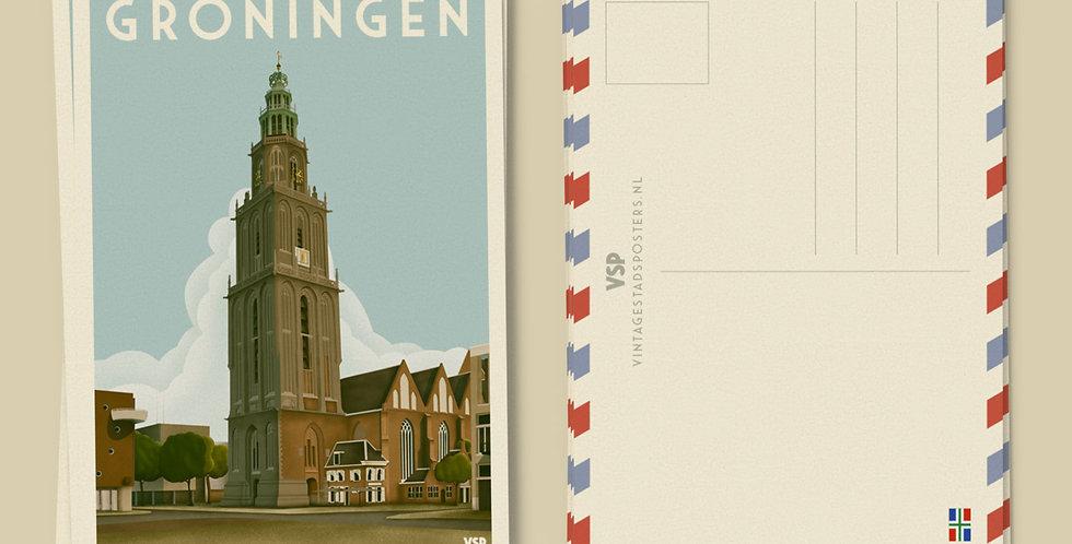 Groningen Ansichtkaarten 6 stuks