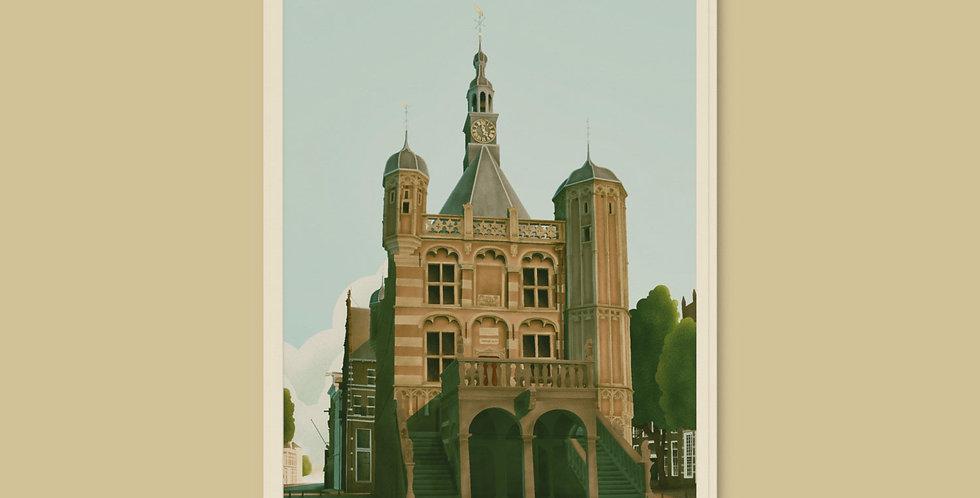 Deventer - De Waag Koelkastmagneet