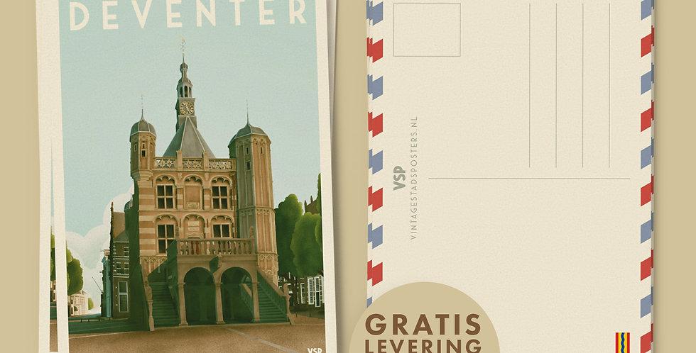 Deventer - De Waag Ansichtkaarten 6 stuks