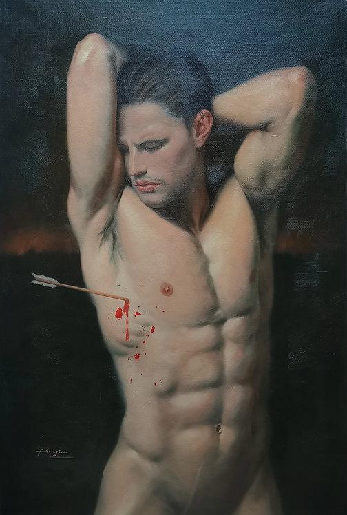 Oil painting- Sebastian