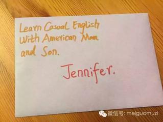 为Jennifer老师送去的问候