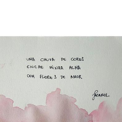 dale chuva! 🎨🌧 #jacarol #haikai #poesi