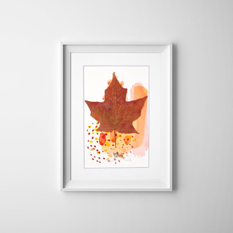 Fall in LOVE 10, by Carolina Schaffer.