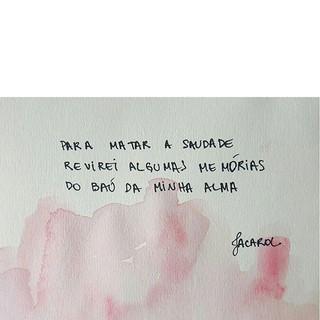 baú de memórias 🗝__#jacarol #haikai #po