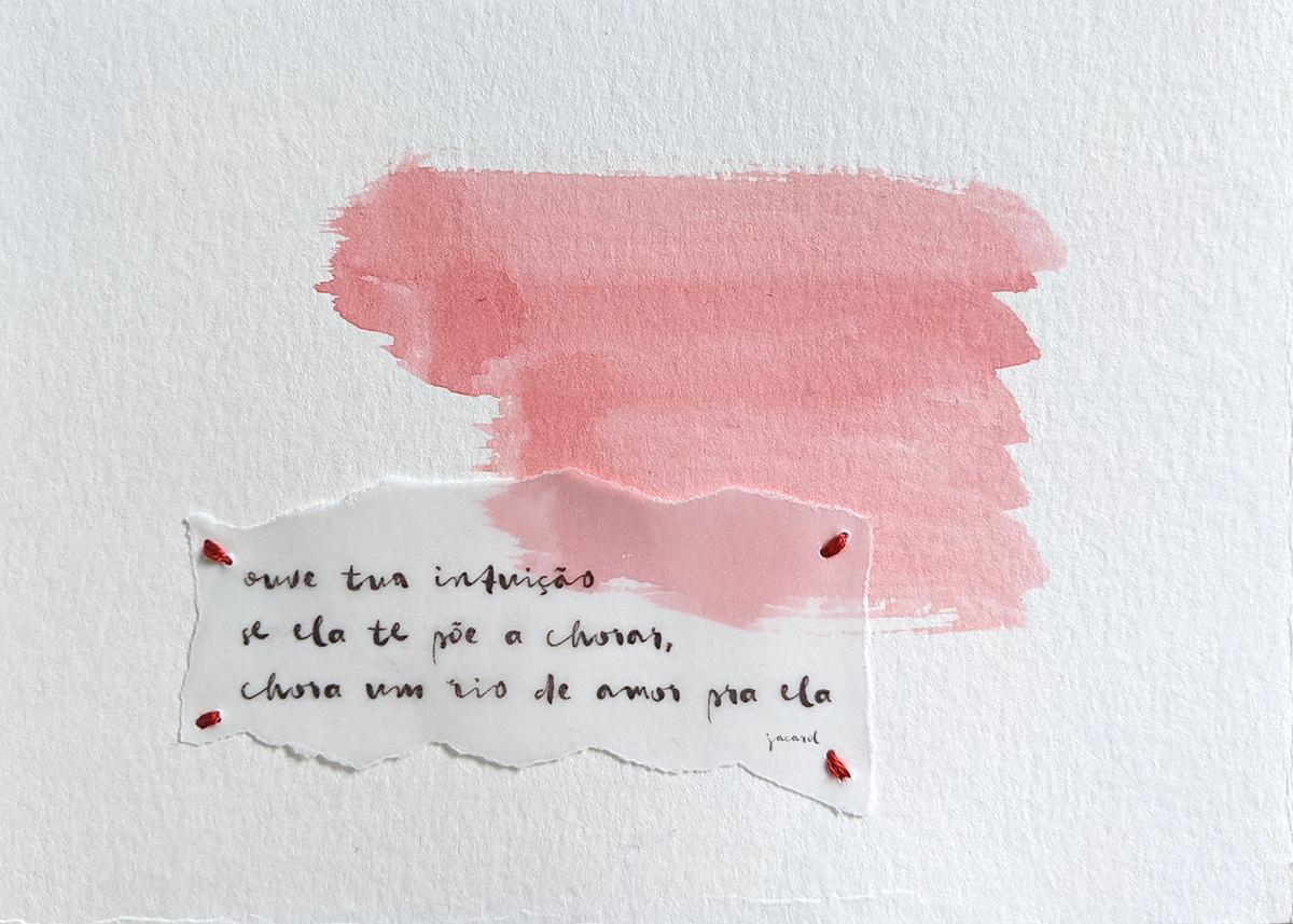 Haikai da Série Pincelada - Por Carolina Schäffer