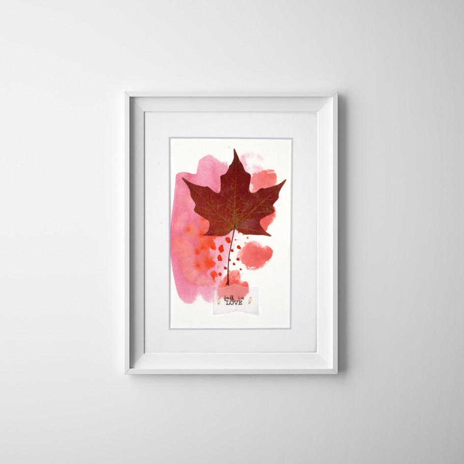 Fall in LOVE 01, by Carolina Schaffer.