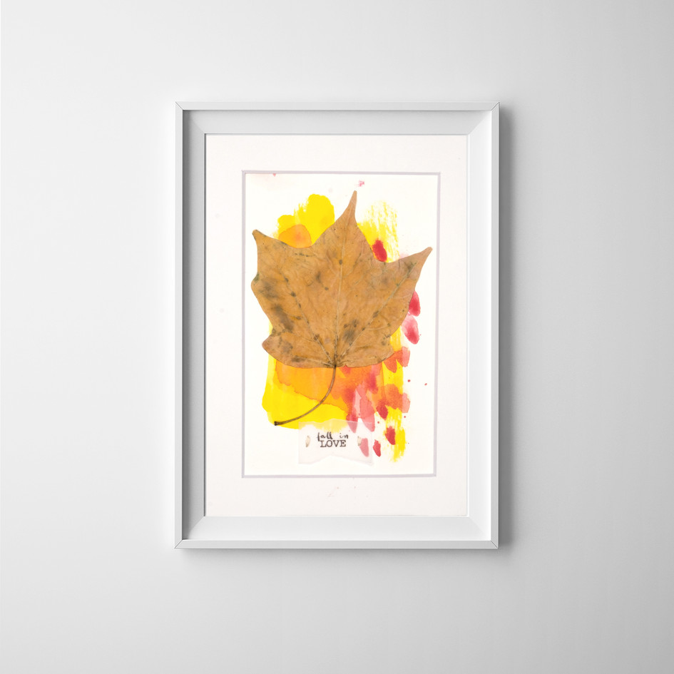 Fall in LOVE 05, by Carolina Schaffer.