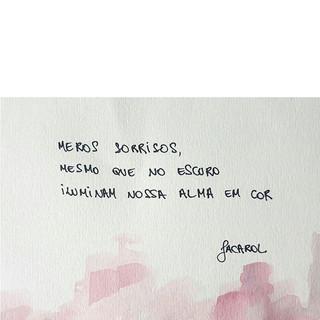 ilumine-se em cor 🎨__#jacarol #haikai #