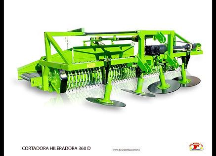 Cortadora hileradora 360-D