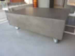 mobilier béton
