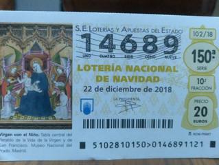 Regalo décimo de lotería