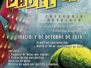 I Liga de padél club tenis rute