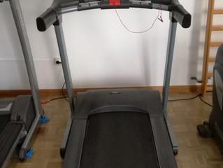 Nueva cinta de andar - correr para el gimnasio