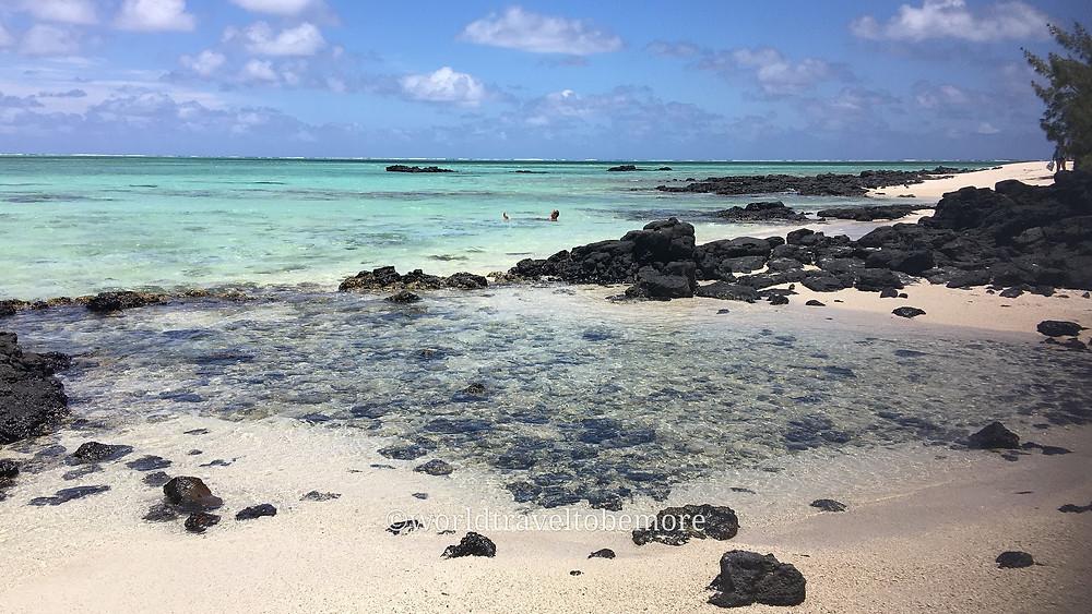 Spiaggia nell'Isola del Cervi a Mauritius. @gajjey