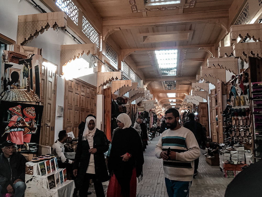 Mercato a Rabat, Marocco