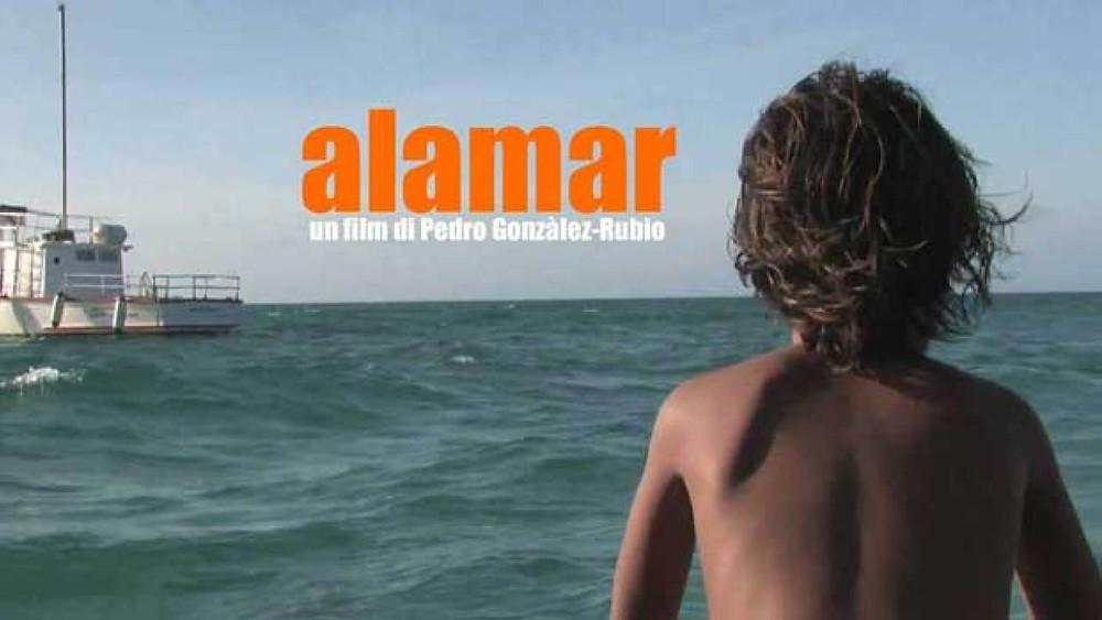 Una delle scene del film ambientato nella riserva marina a largo delle coste Messicane. Immagine presa dal web.