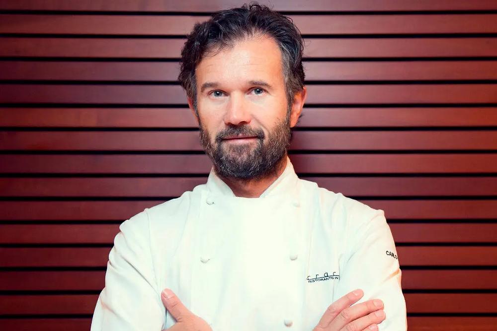 Fotografia dello Chef Carlo Cracco.