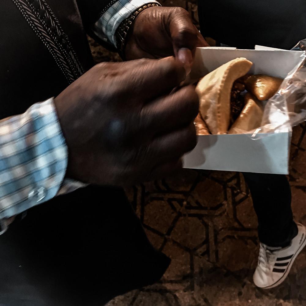 Corna di Gazzella, un biscotto dolce marocchino. presto la ricetta sul blog worldtraveltobemore.com
